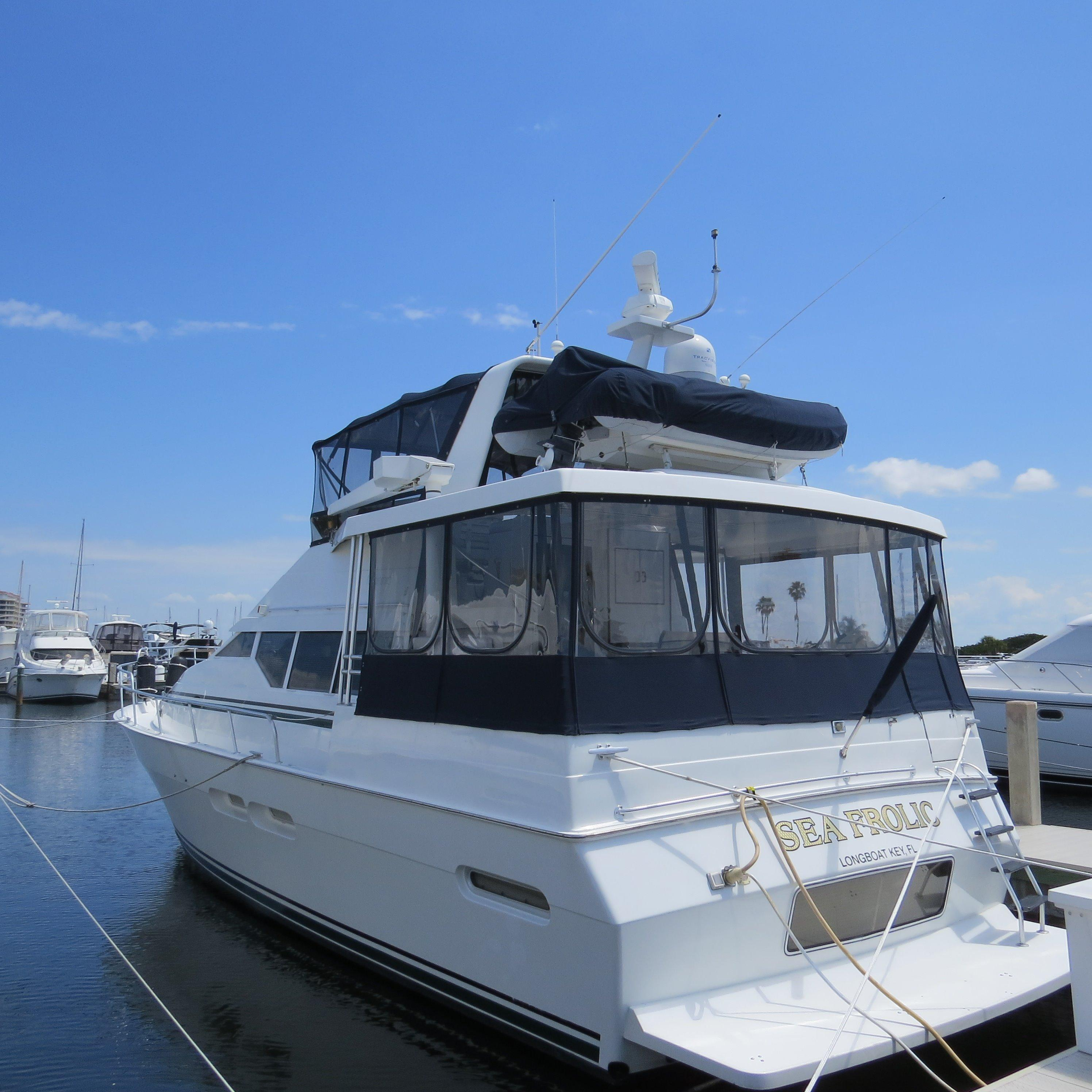 47 mainship motor yacht 1997 sea frolic for sale in long for Motor yachts for sale in florida
