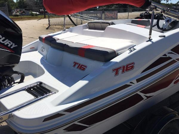 2020 Tahoe boat for sale, model of the boat is T16 & Image # 7 of 9
