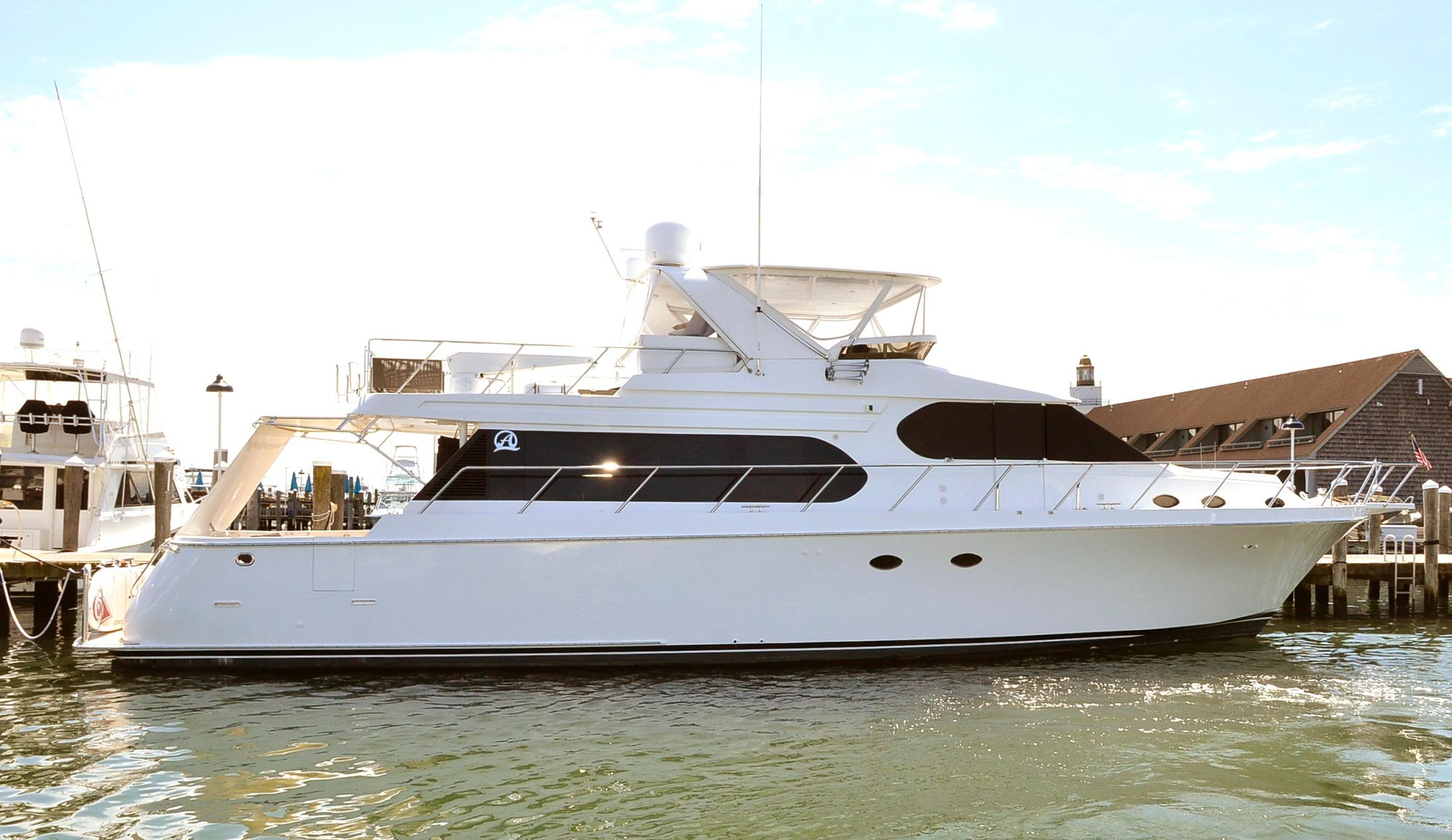 64 ocean alexander g crew 2003 unknown denison yacht sales for Large motor yachts for sale
