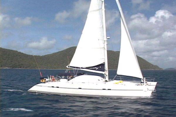 55' Lagoon Sailing