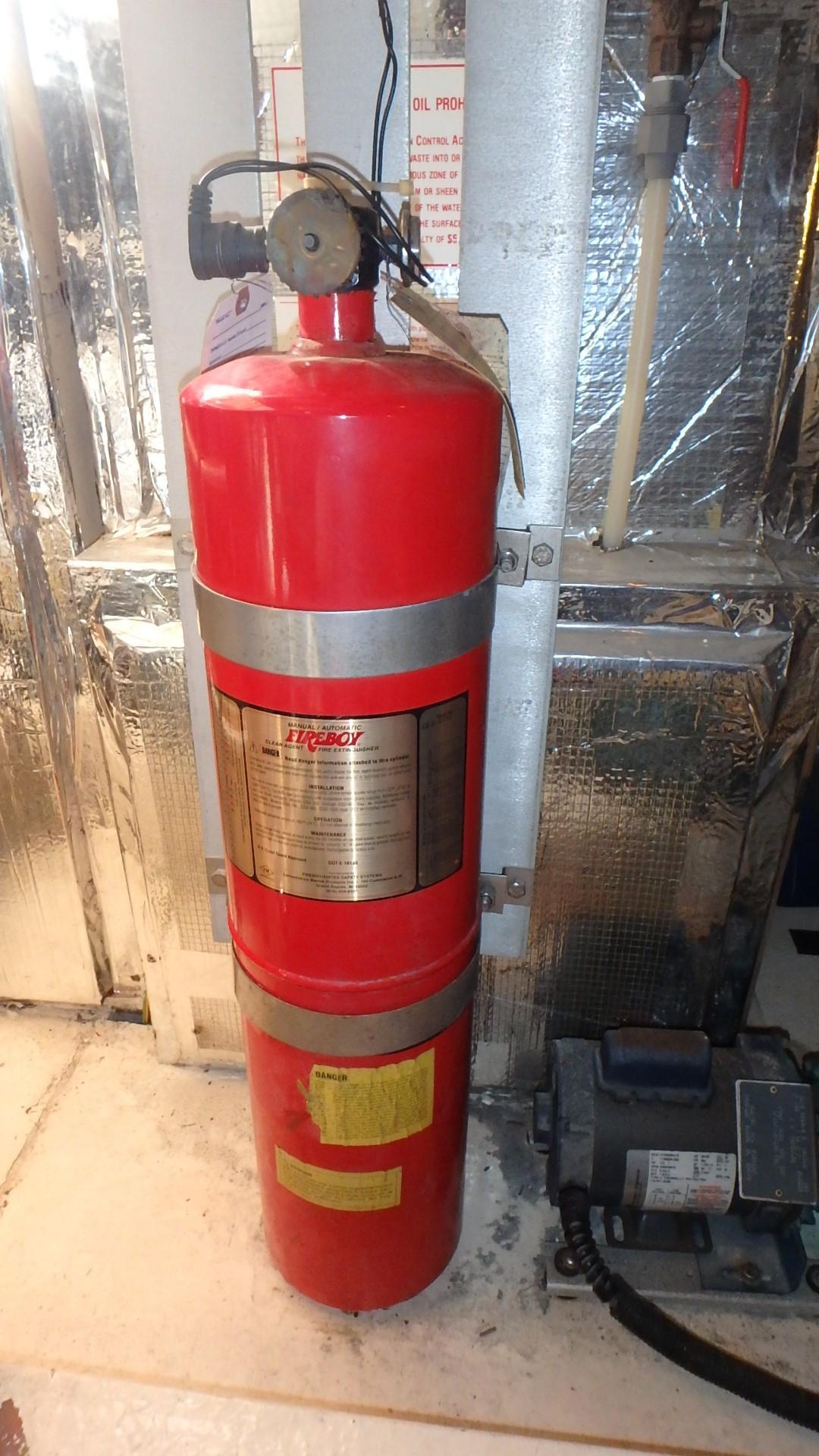 Navigator 4800 CLASSIC - Fire Ext. System