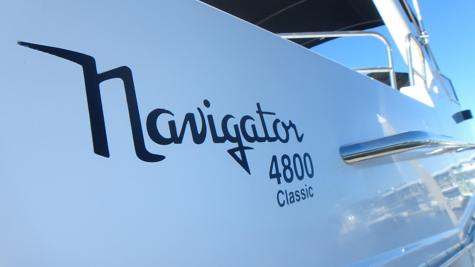 Navigator 4800 CLASSIC - Logo/Model