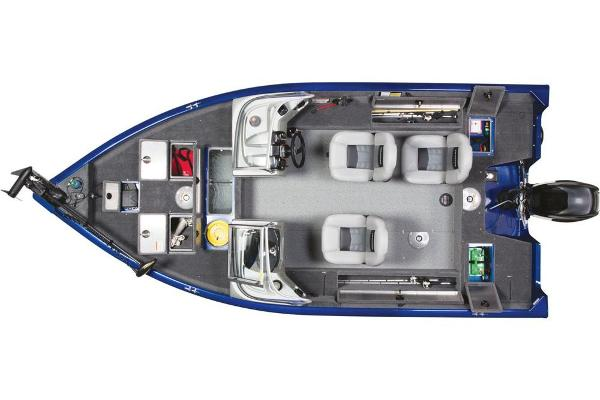 2017 Tracker Boats boat for sale, model of the boat is Pro Guide V-16 WT & Image # 12 of 46