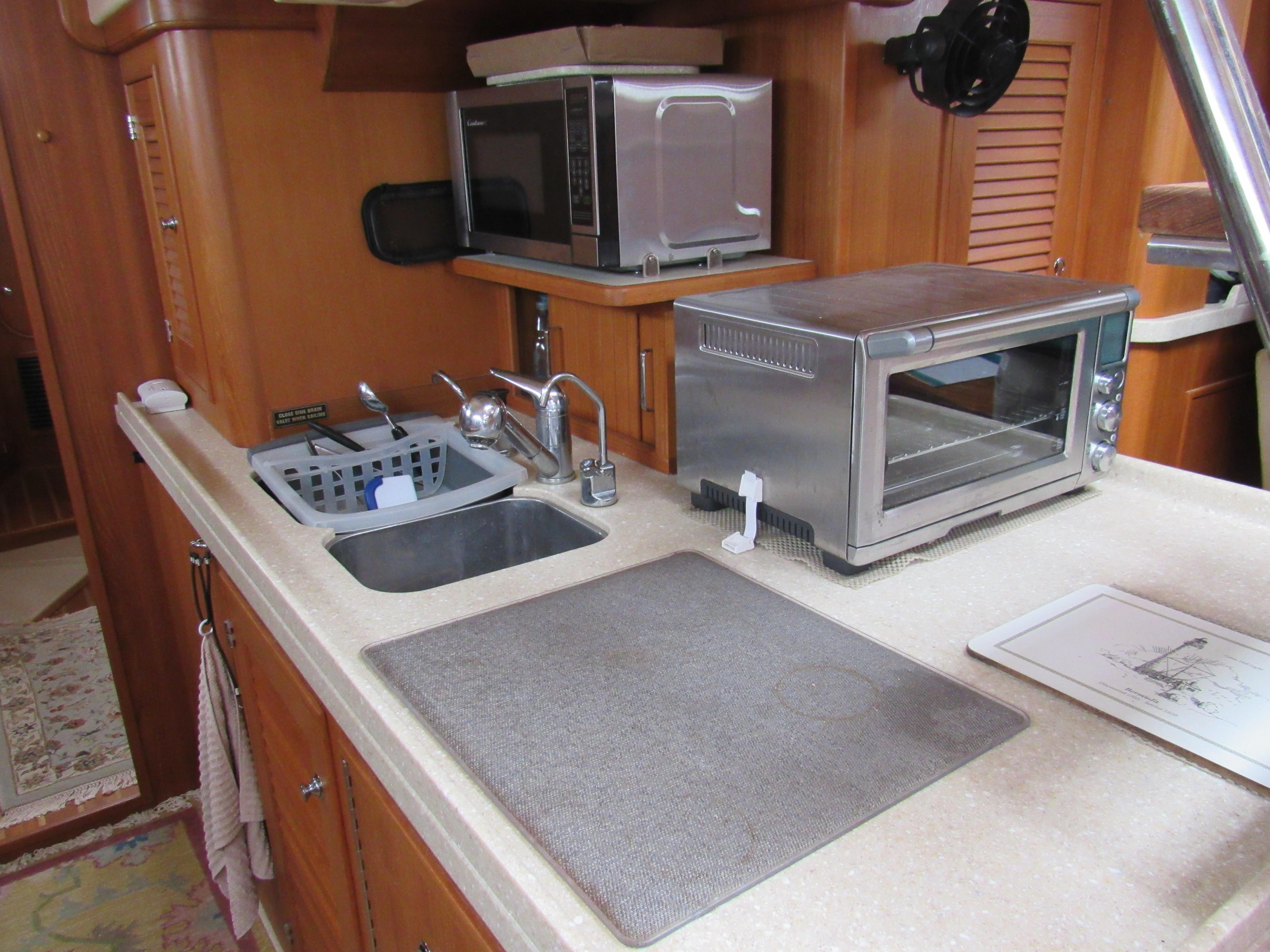 Very workable galley