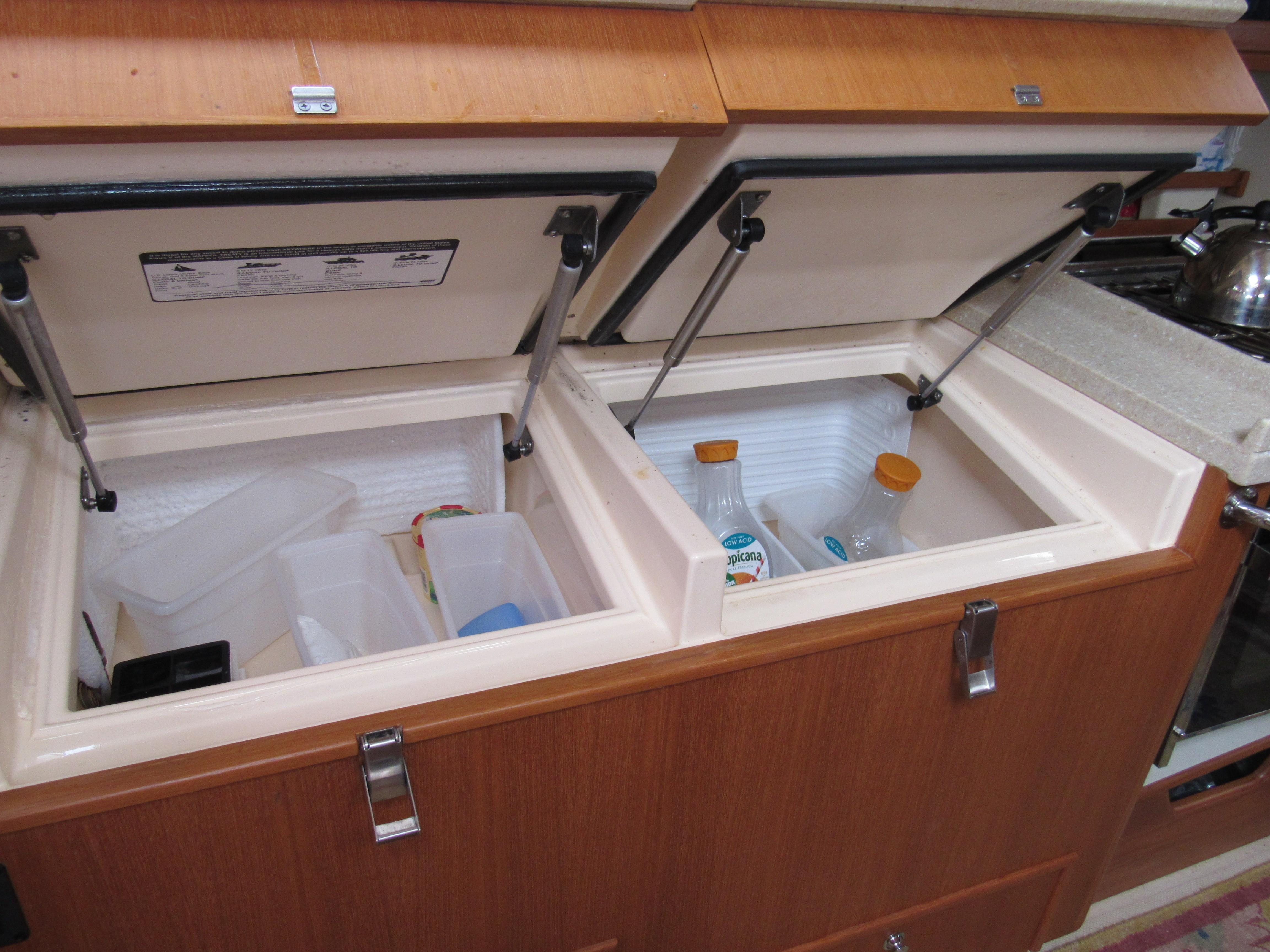 Refrigeration and freezer