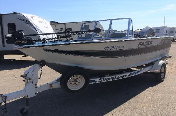 1993 SMOKER CRAFT FAZER for sale