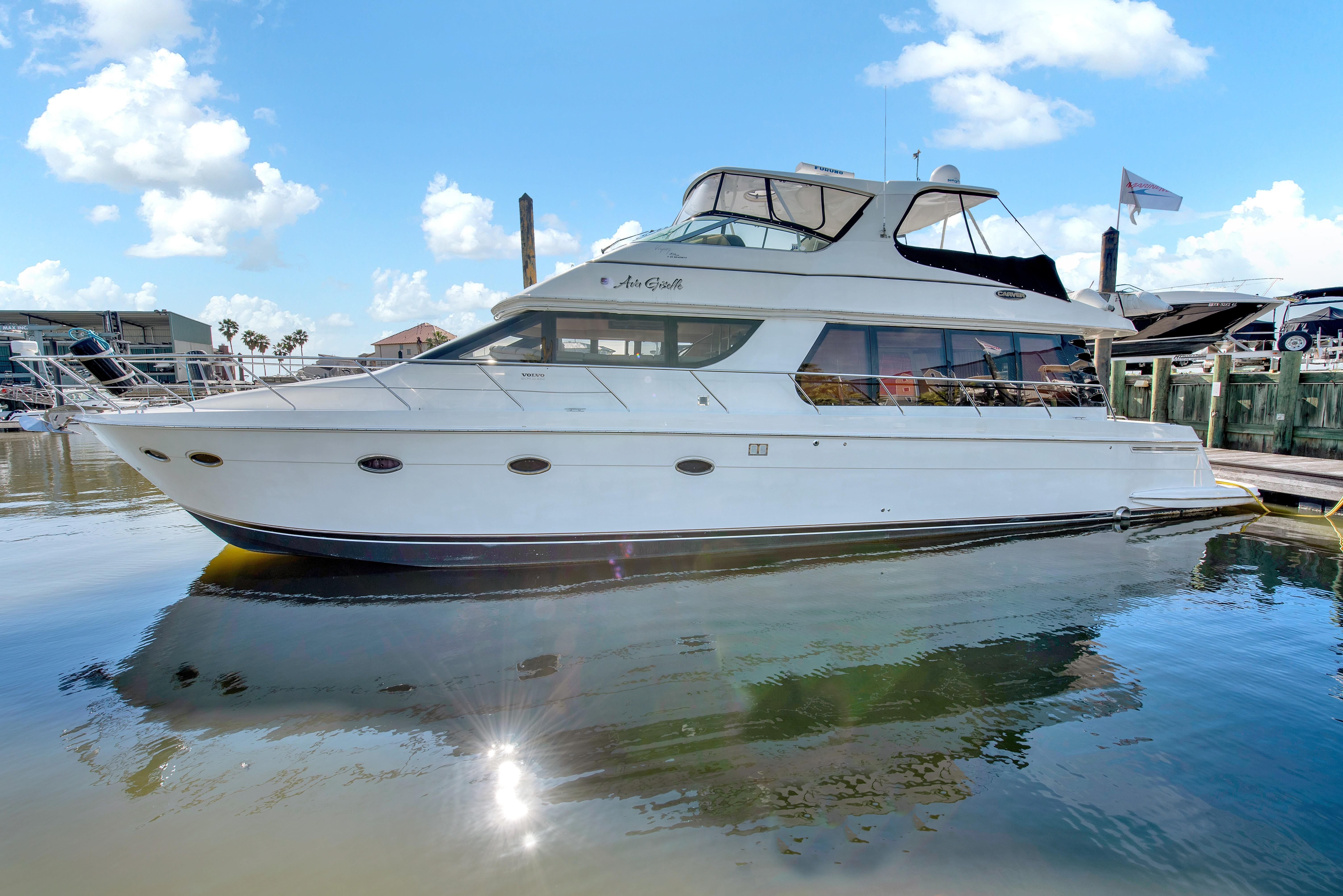57 ft Carver 570 Voyager Pilothouse