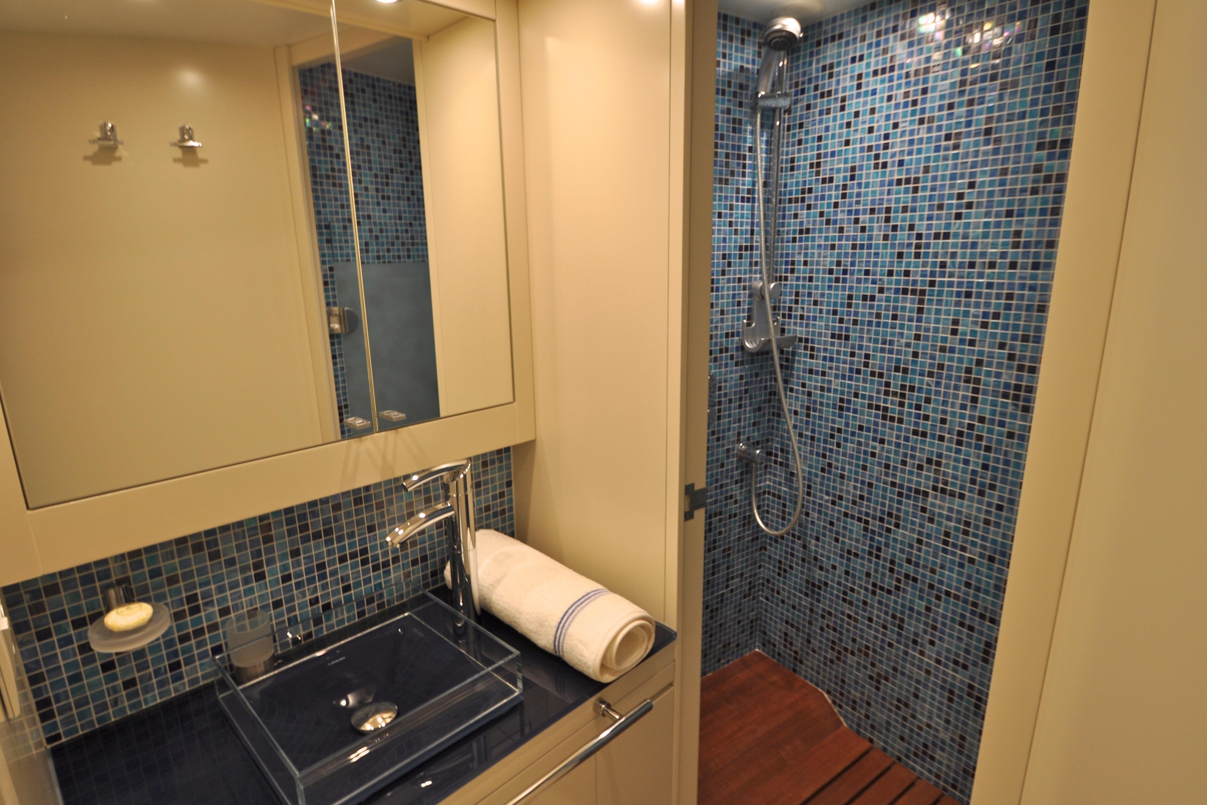 Twin shower room