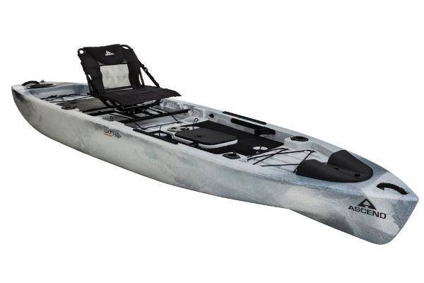 2018 ASCEND 128T YAK POWER SIT ON (WHITE/BLACK) for sale