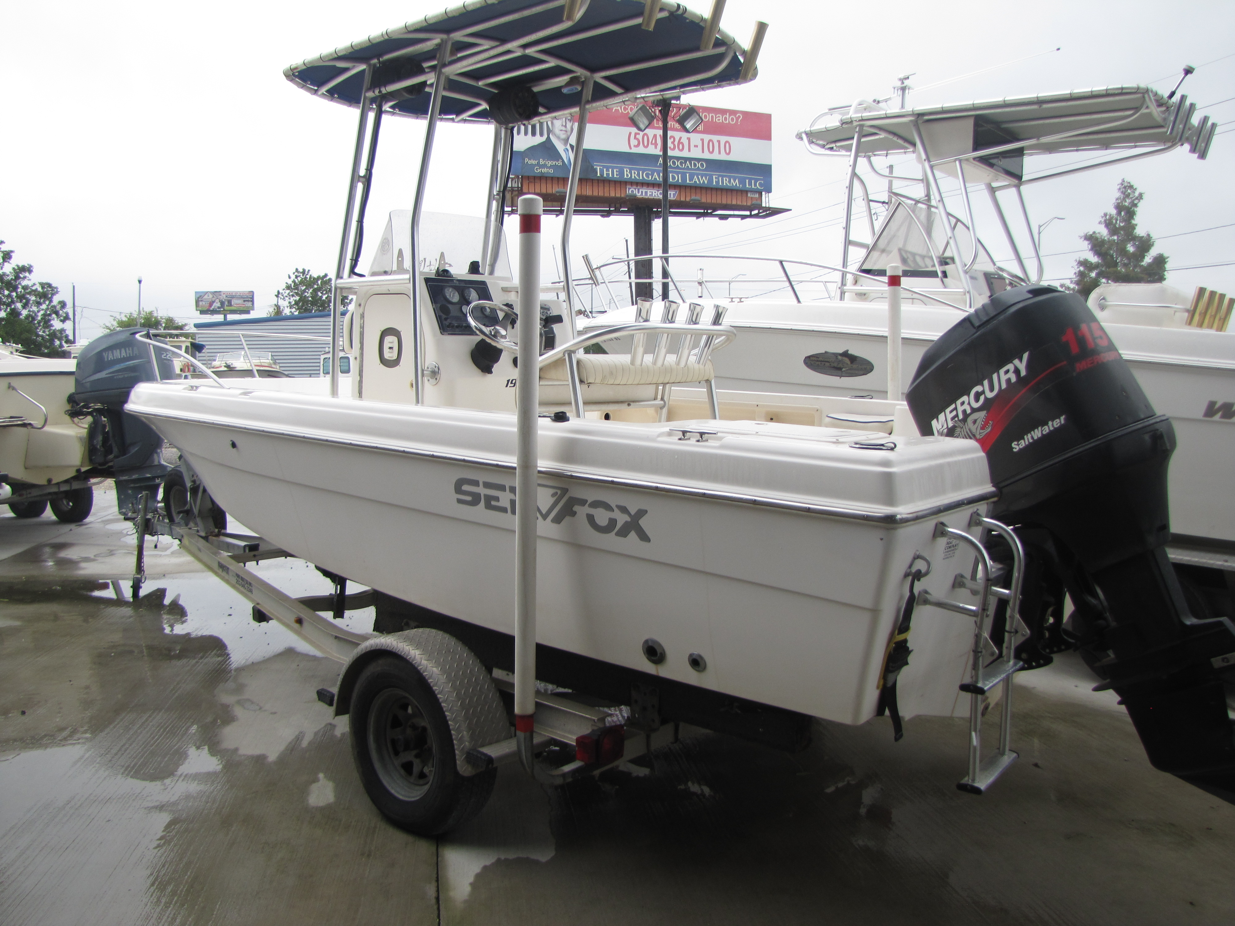 2003 Sea Fox boat for sale, model of the boat is 197 & Image # 6 of 19