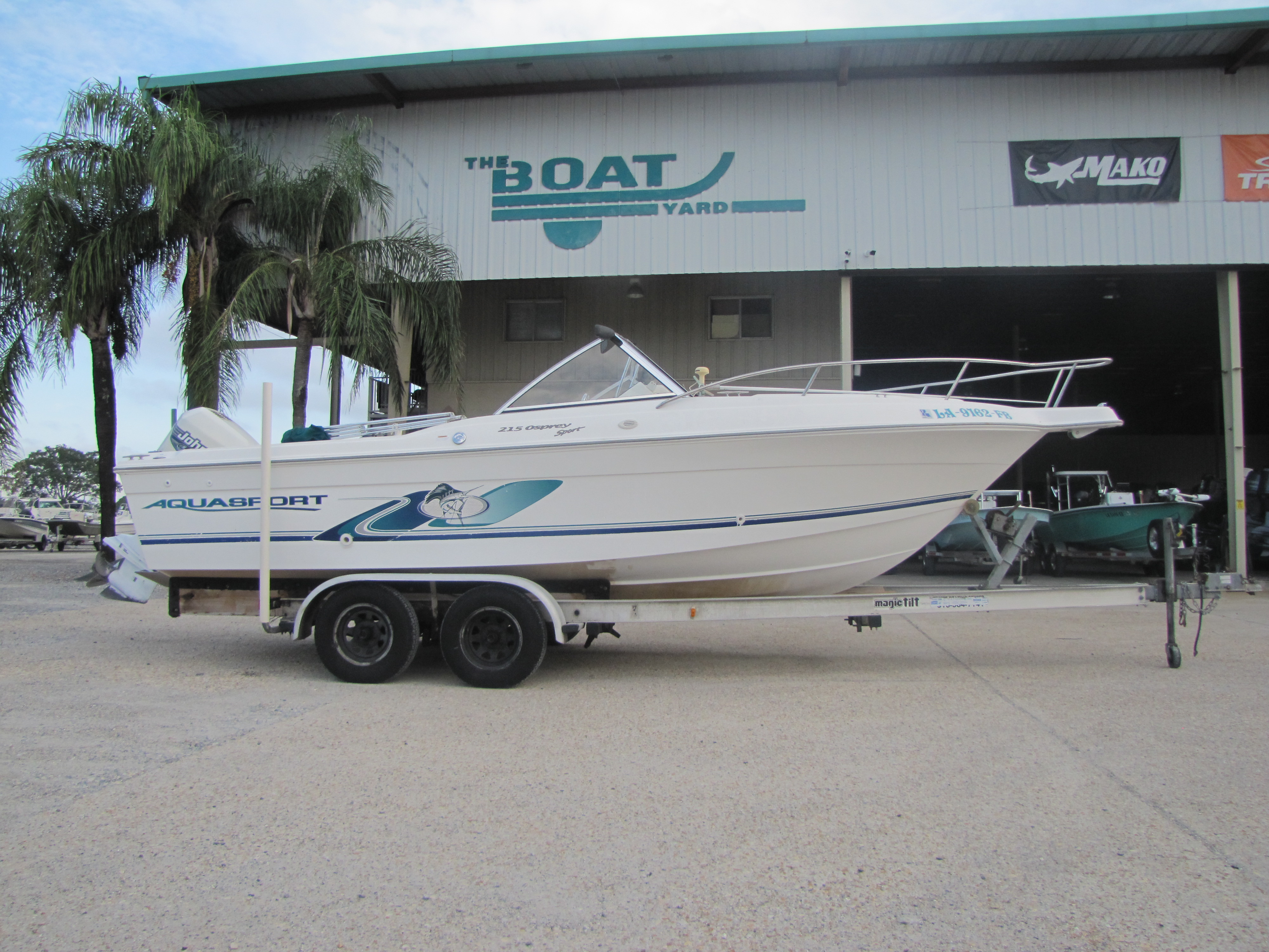 2000 Aquasport boat for sale, model of the boat is 215 Osprey Sport & Image # 1 of 21