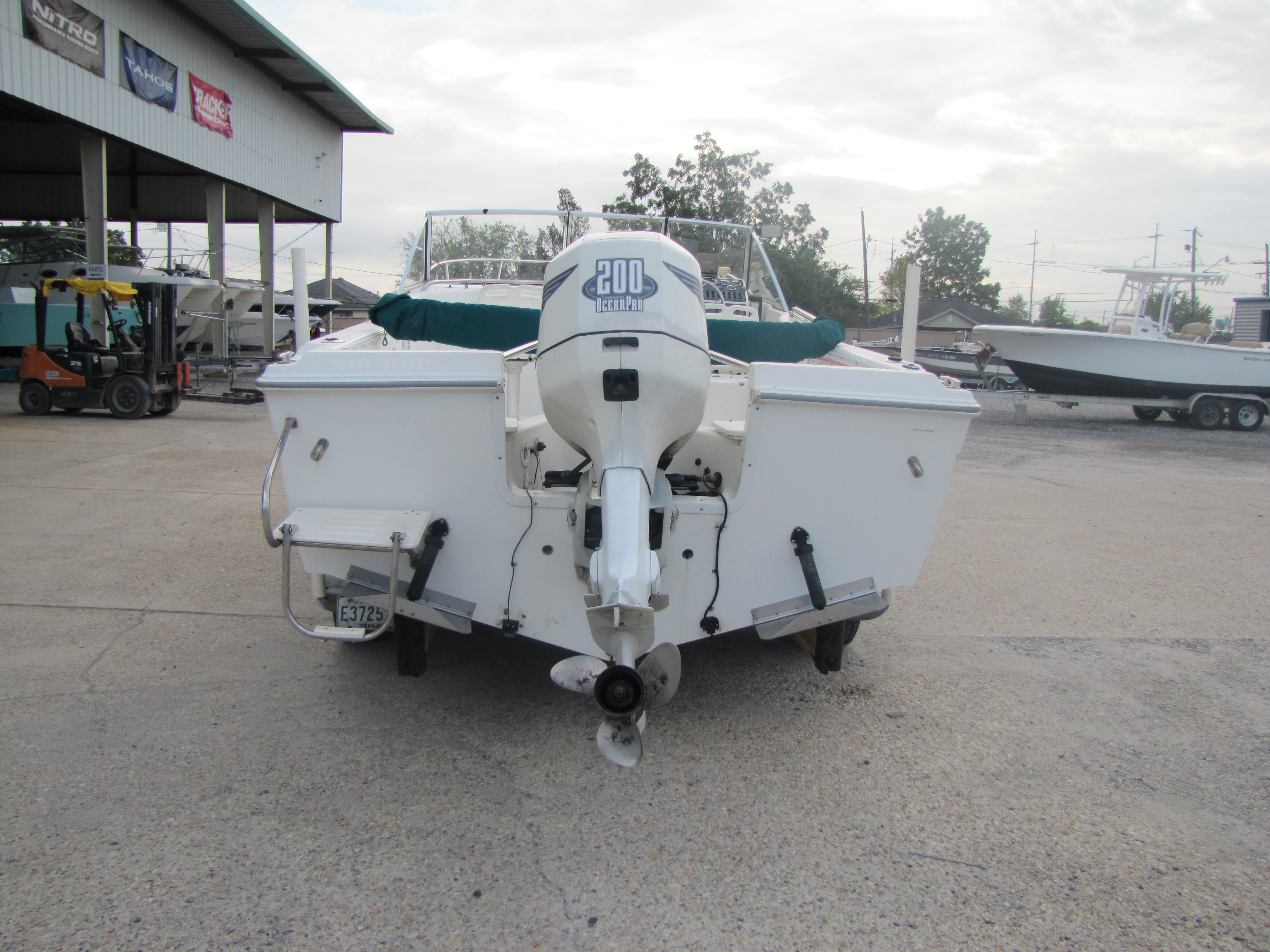 2000 Aquasport boat for sale, model of the boat is 215 Osprey Sport & Image # 6 of 21