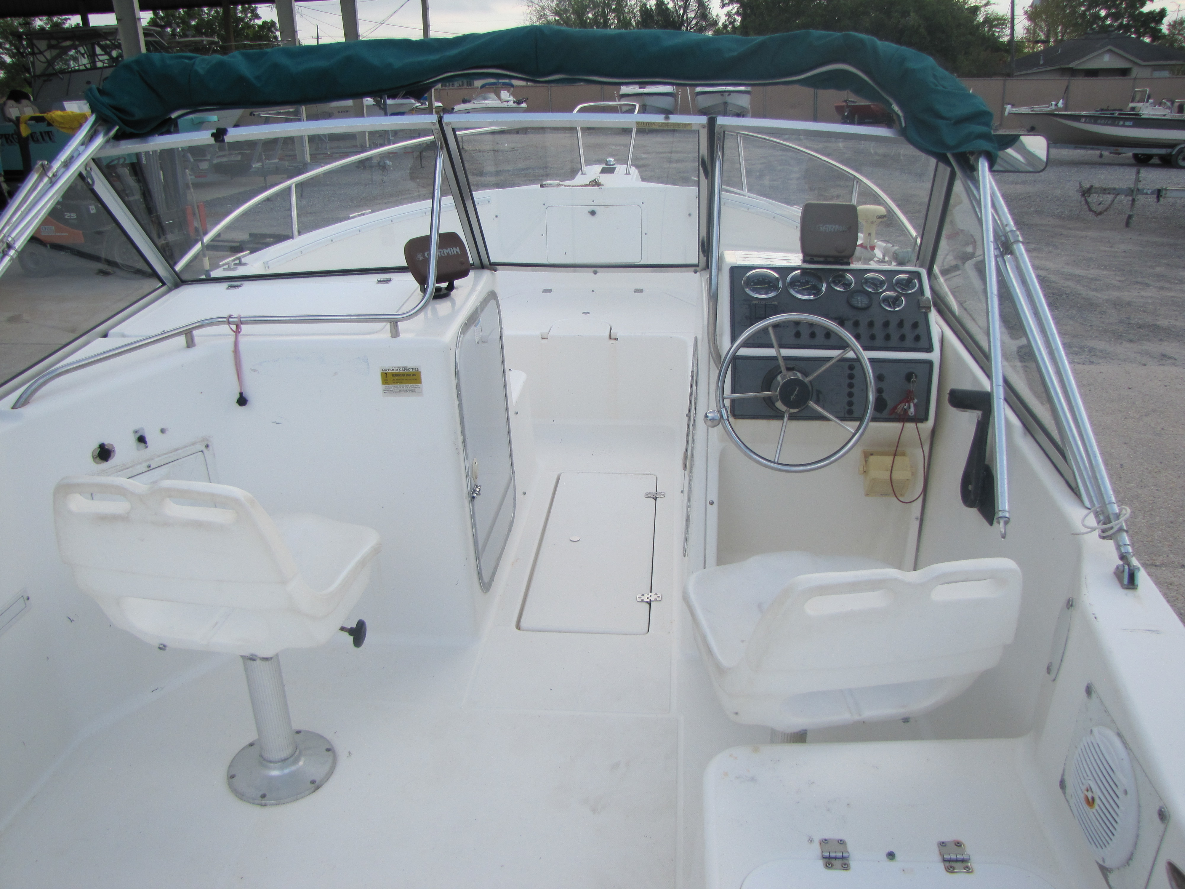 2000 Aquasport boat for sale, model of the boat is 215 Osprey Sport & Image # 11 of 21