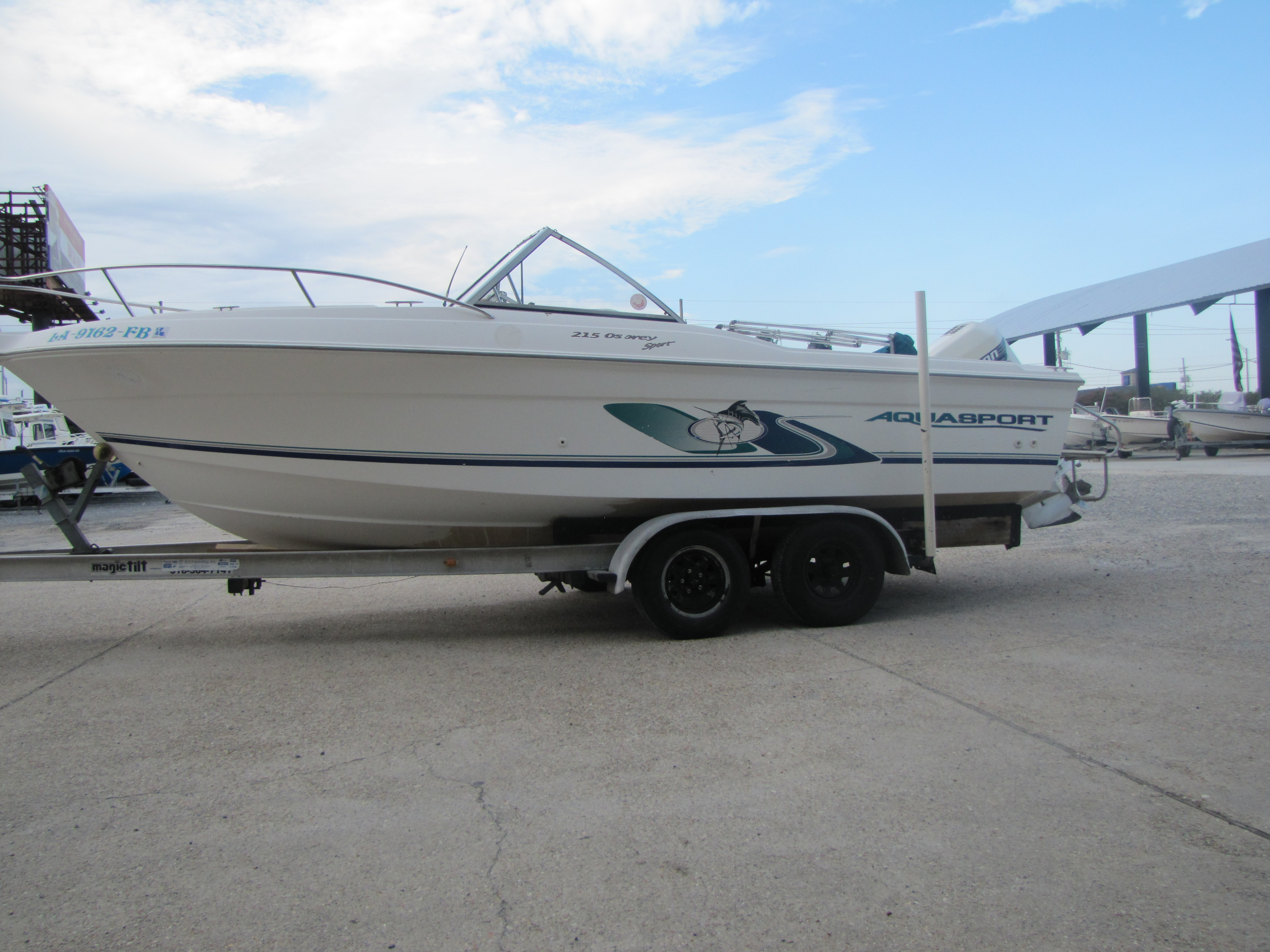 2000 Aquasport boat for sale, model of the boat is 215 Osprey Sport & Image # 18 of 21