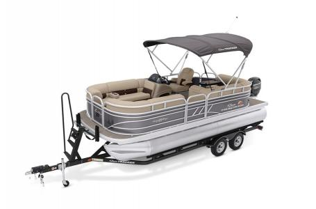 2020 Sun Tracker boat for sale, model of the boat is Signature Party Barge 20 w/90ELPT 4S CT & Image # 6 of 39