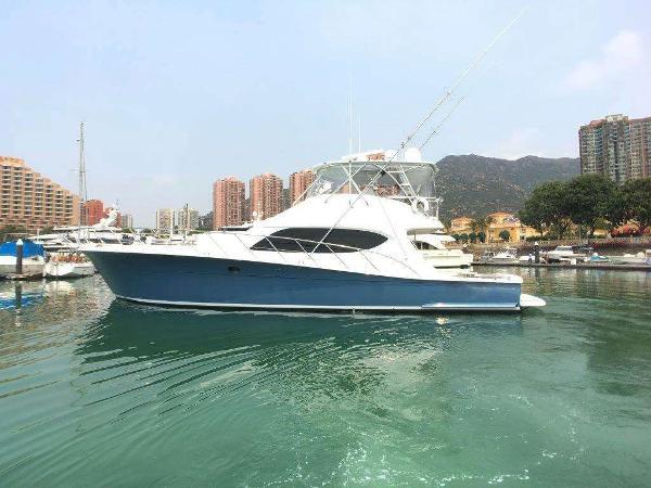 Hatteras GT63 Profile