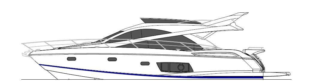 Manufacturer Provided Image: Sunseeker Mahattan 53 Profile
