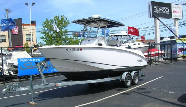 Boston Whaler 240 Outrage with Trailer Saltwater Fishing