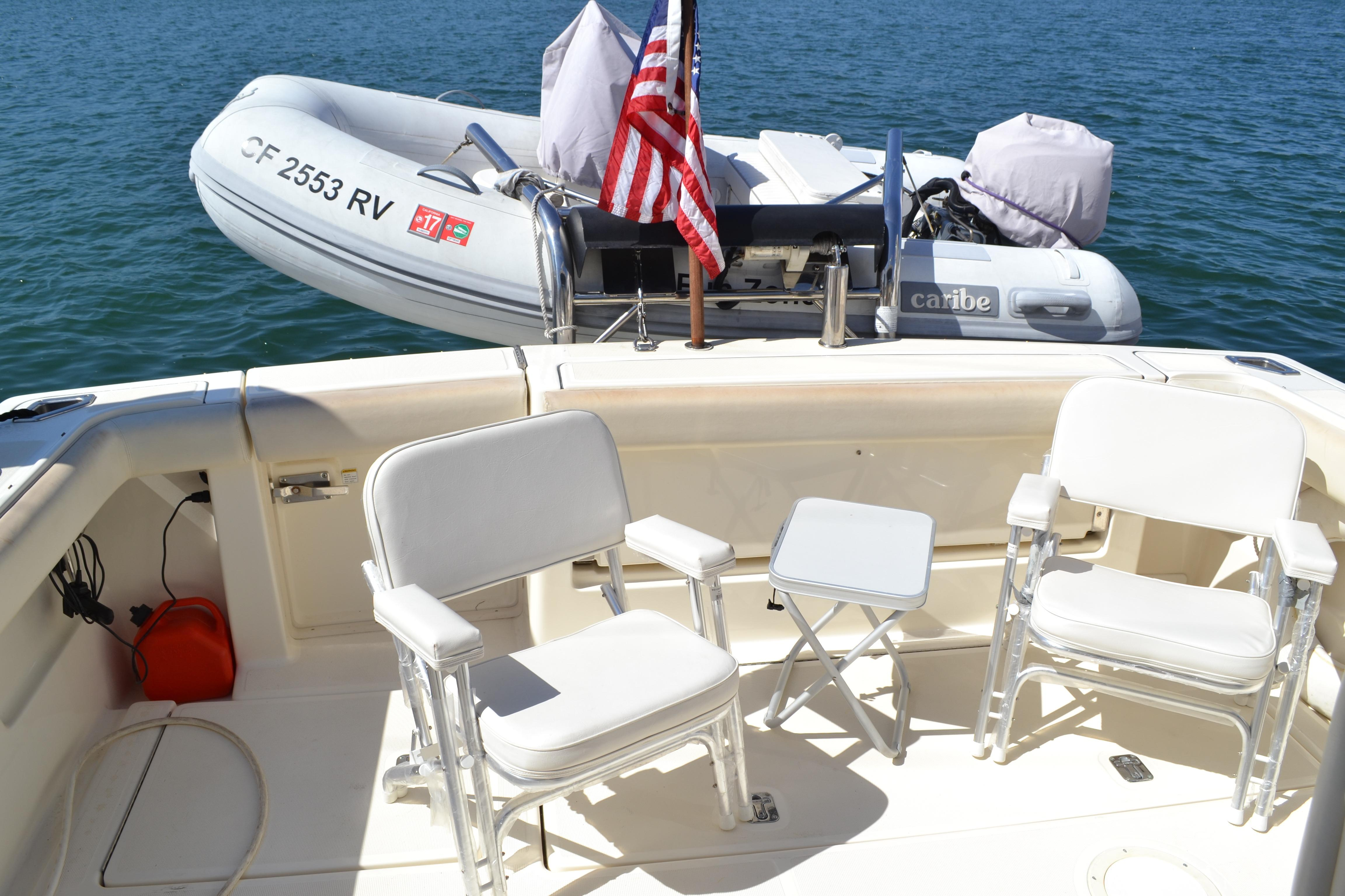 Aft Deck Chairs & Table
