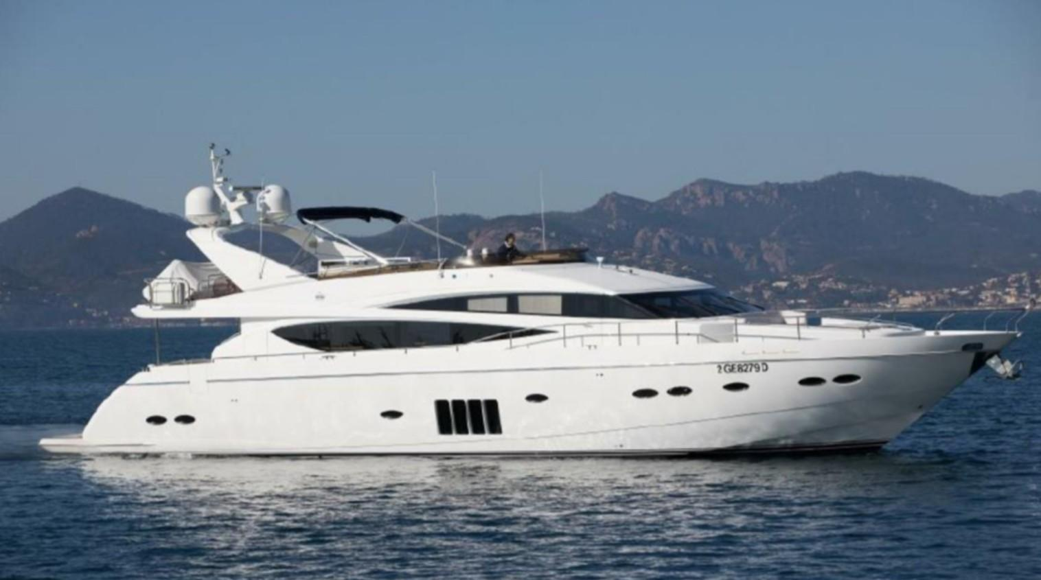 85.08 ft Princess 85 Motor Yacht