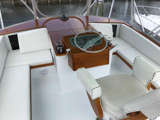 Flybridge and Seating