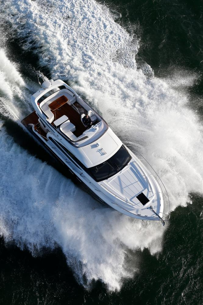 Manufacturer Provided Image: Princess Flybridge 43 Motor Yacht Aerial View