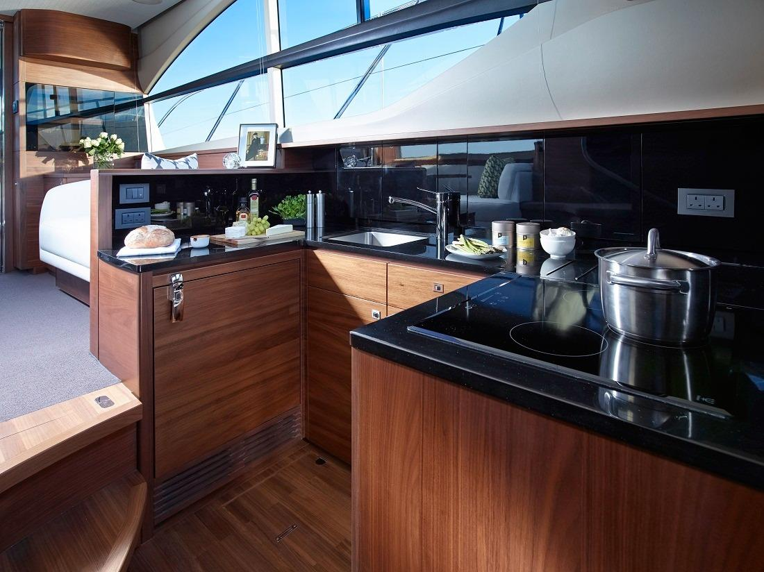 Manufacturer Provided Image: Princess Flybridge 43 Motor Yacht Galley