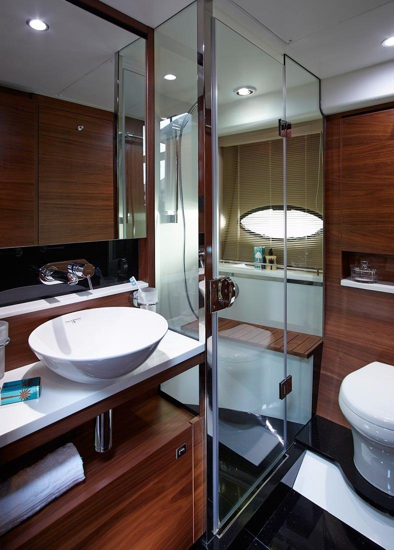 Manufacturer Provided Image: Princess Flybridge 43 Motor Yacht Guest Bathroom