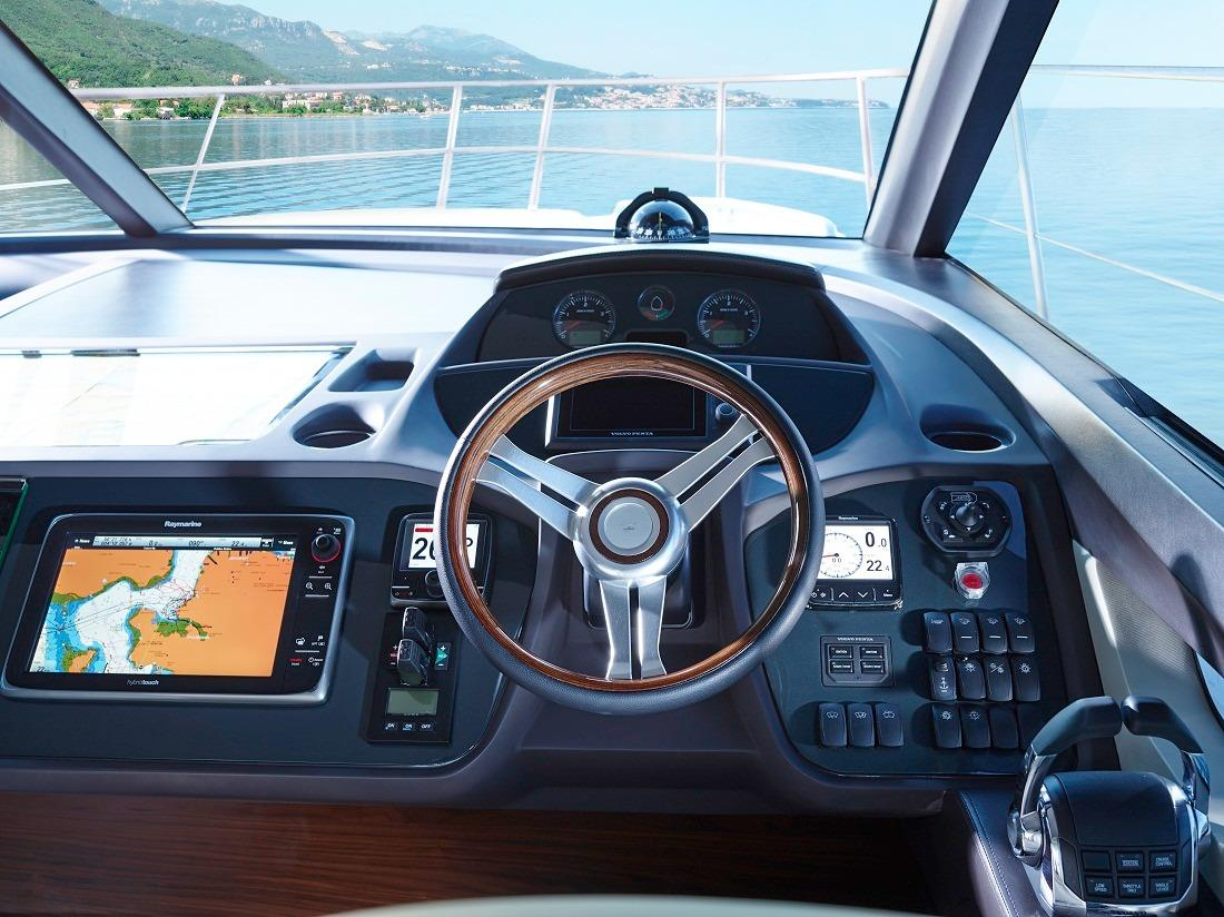 Manufacturer Provided Image: Princess Flybridge 43 Motor Yacht Helm