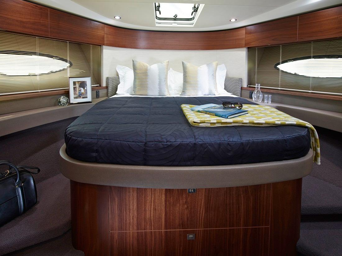 Manufacturer Provided Image: Princess Flybridge 43 Motor Yacht Owners Cabin