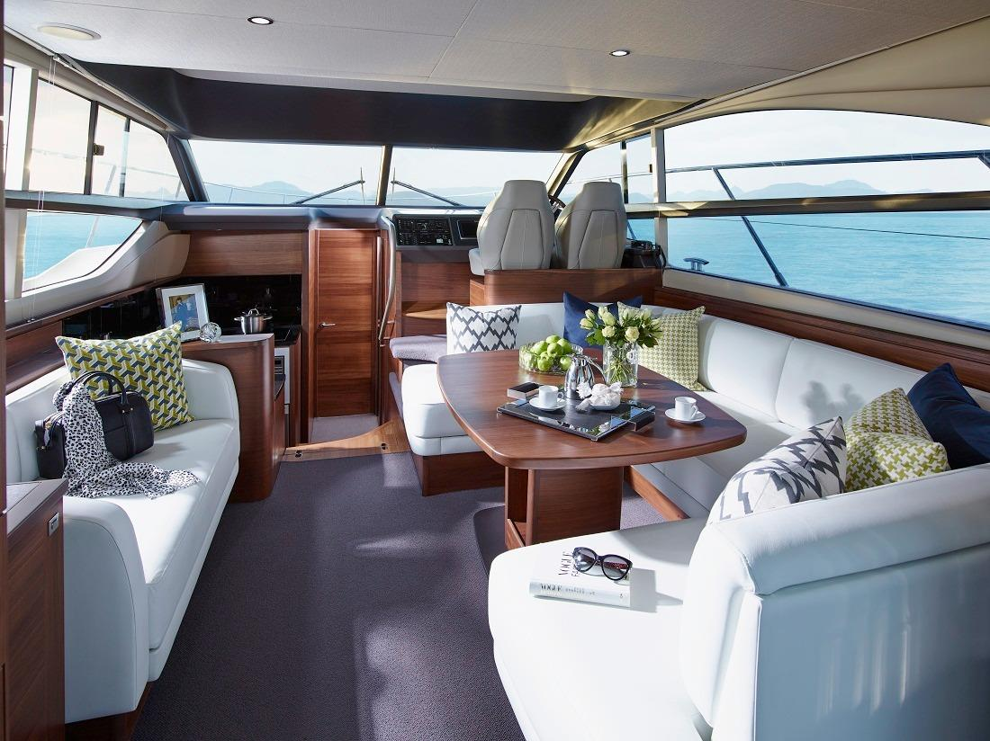 Manufacturer Provided Image: Princess Flybridge 43 Motor Yacht Saloon