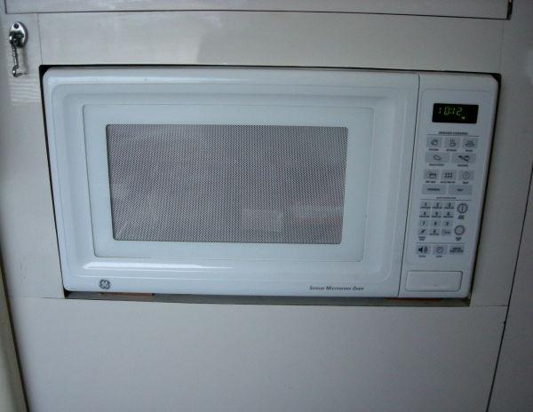 Microwave/ Port Side