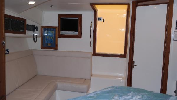 Helm Seating And Ice Maker