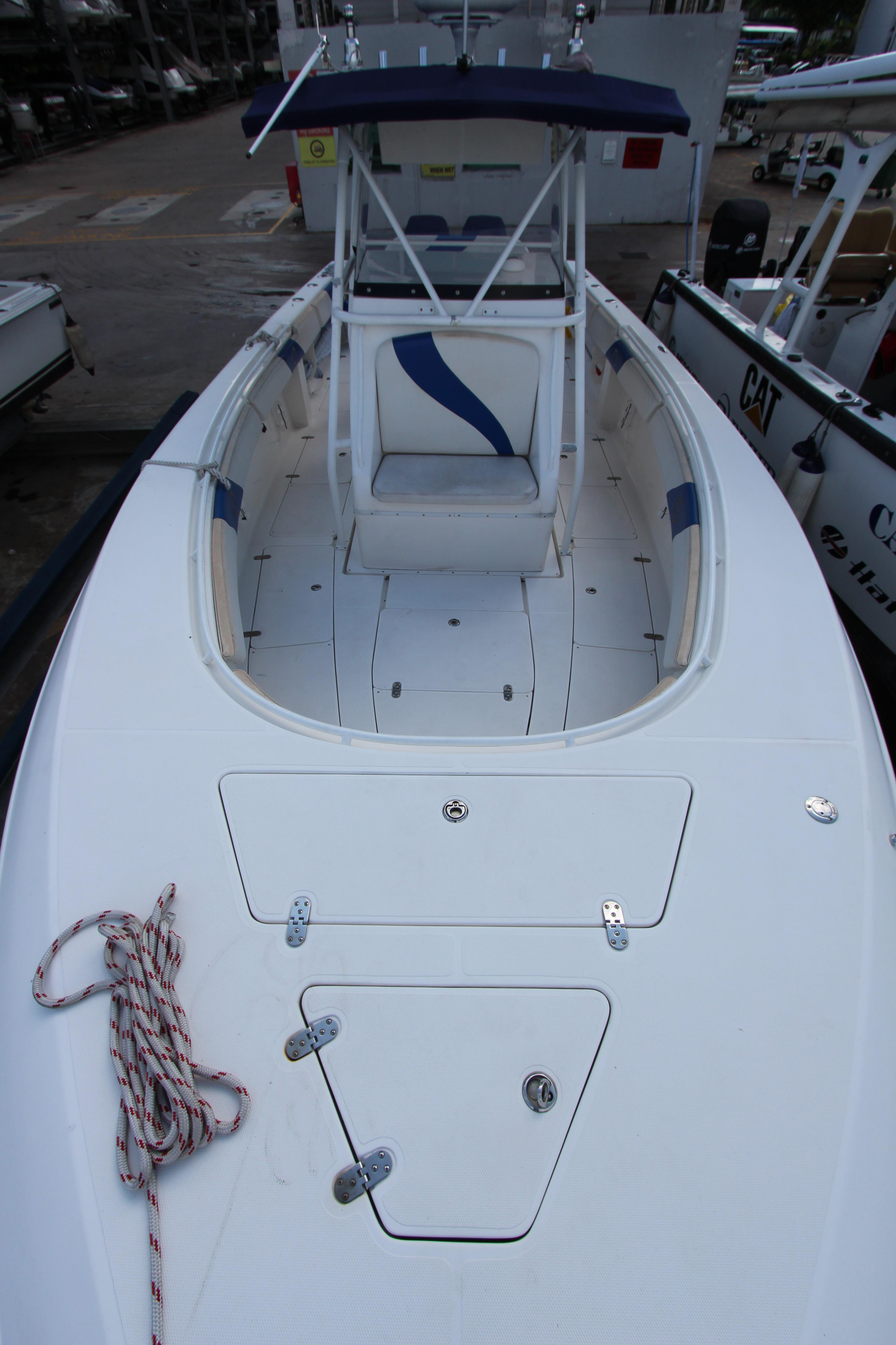 Bow looking aft