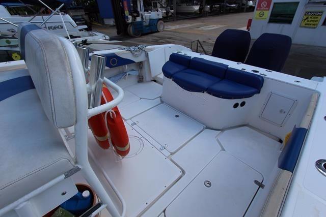 Cockpit aft view
