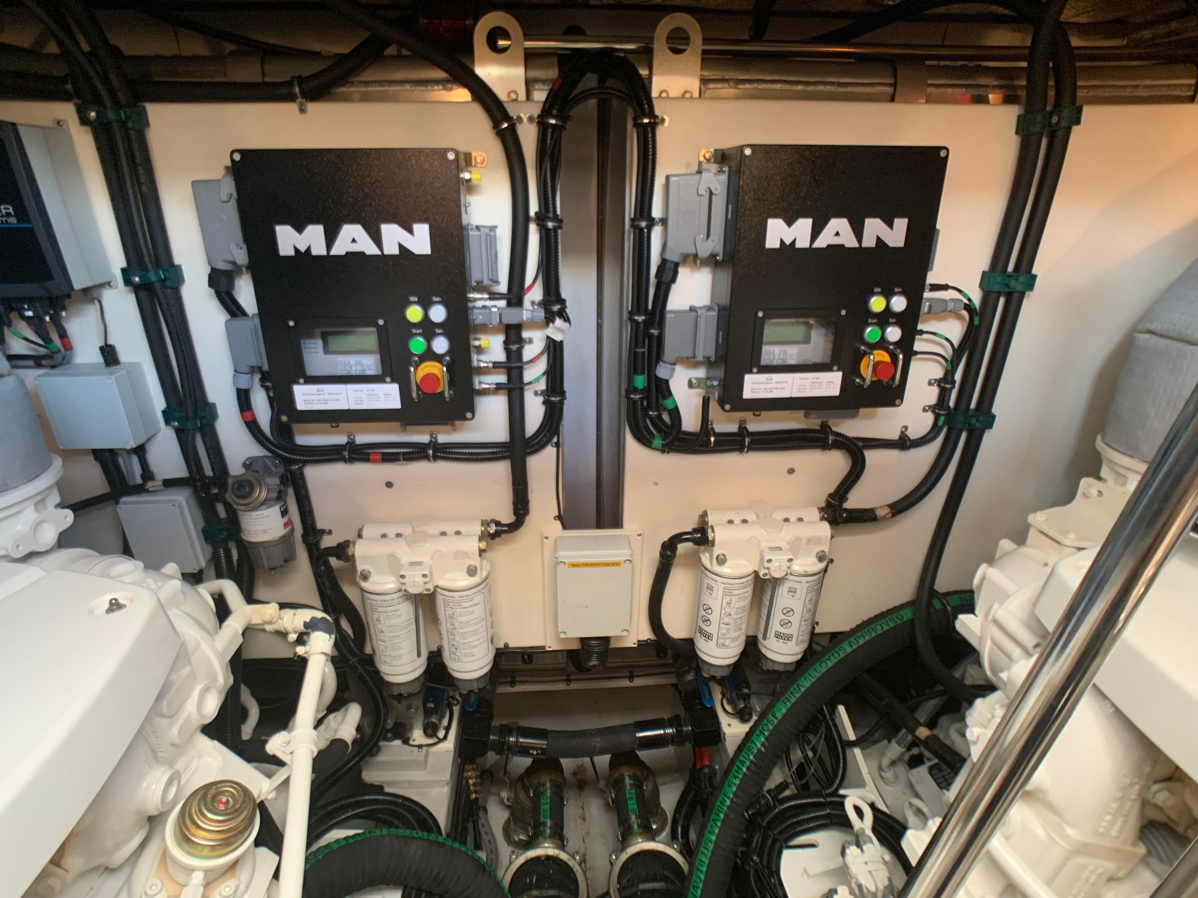 Manhattan 65 - Engine Room