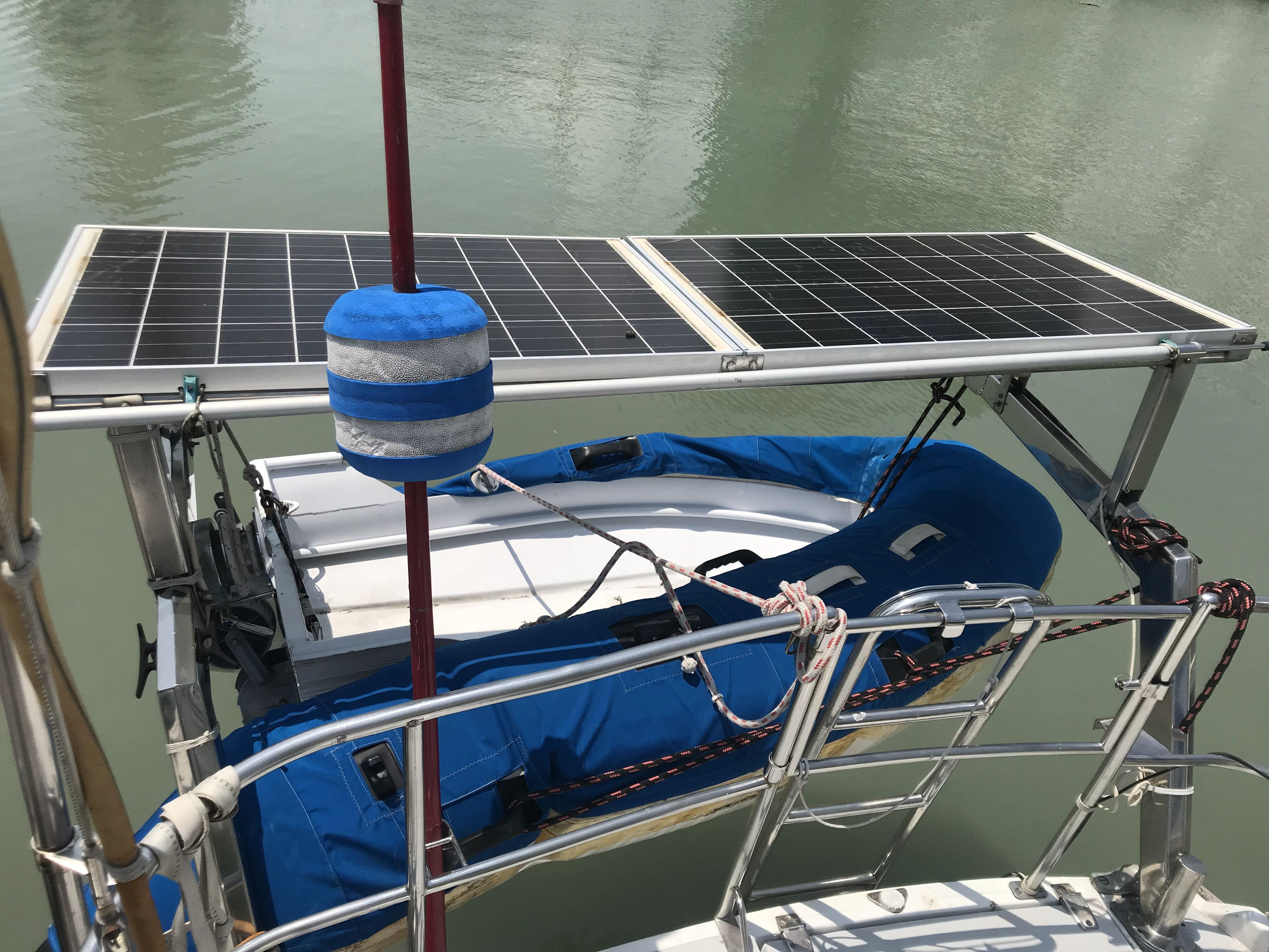 Solar Panels  & Dinghy