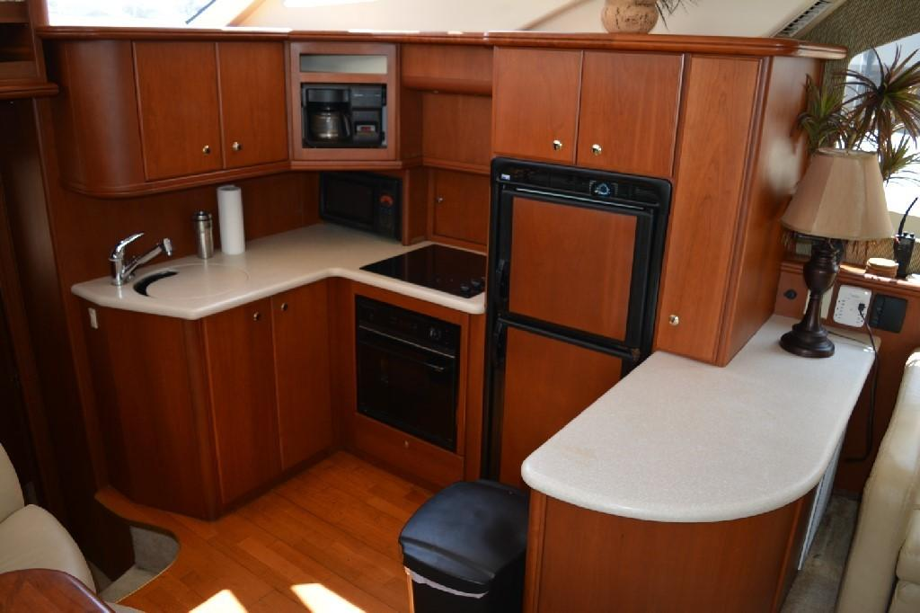 Silverton 43 Motor Yacht - Galley