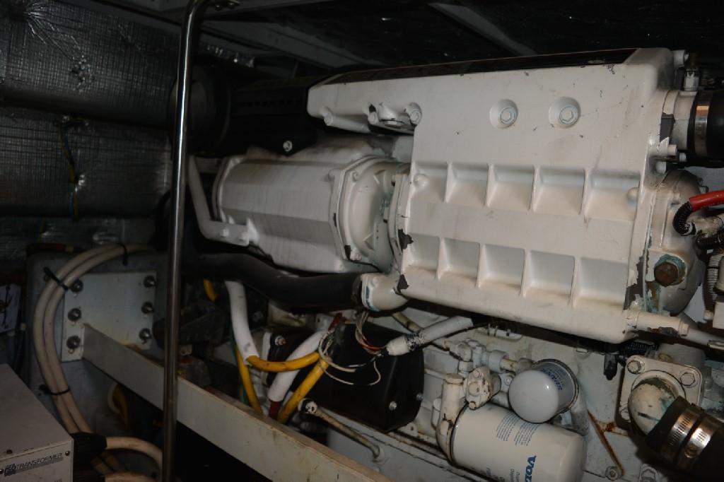 Silverton 43 Motor Yacht - Port Engine