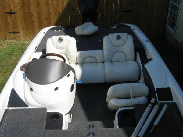 Comfortable Cockpit Seating