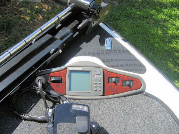 Bow With Fish Finder And Foot Controls