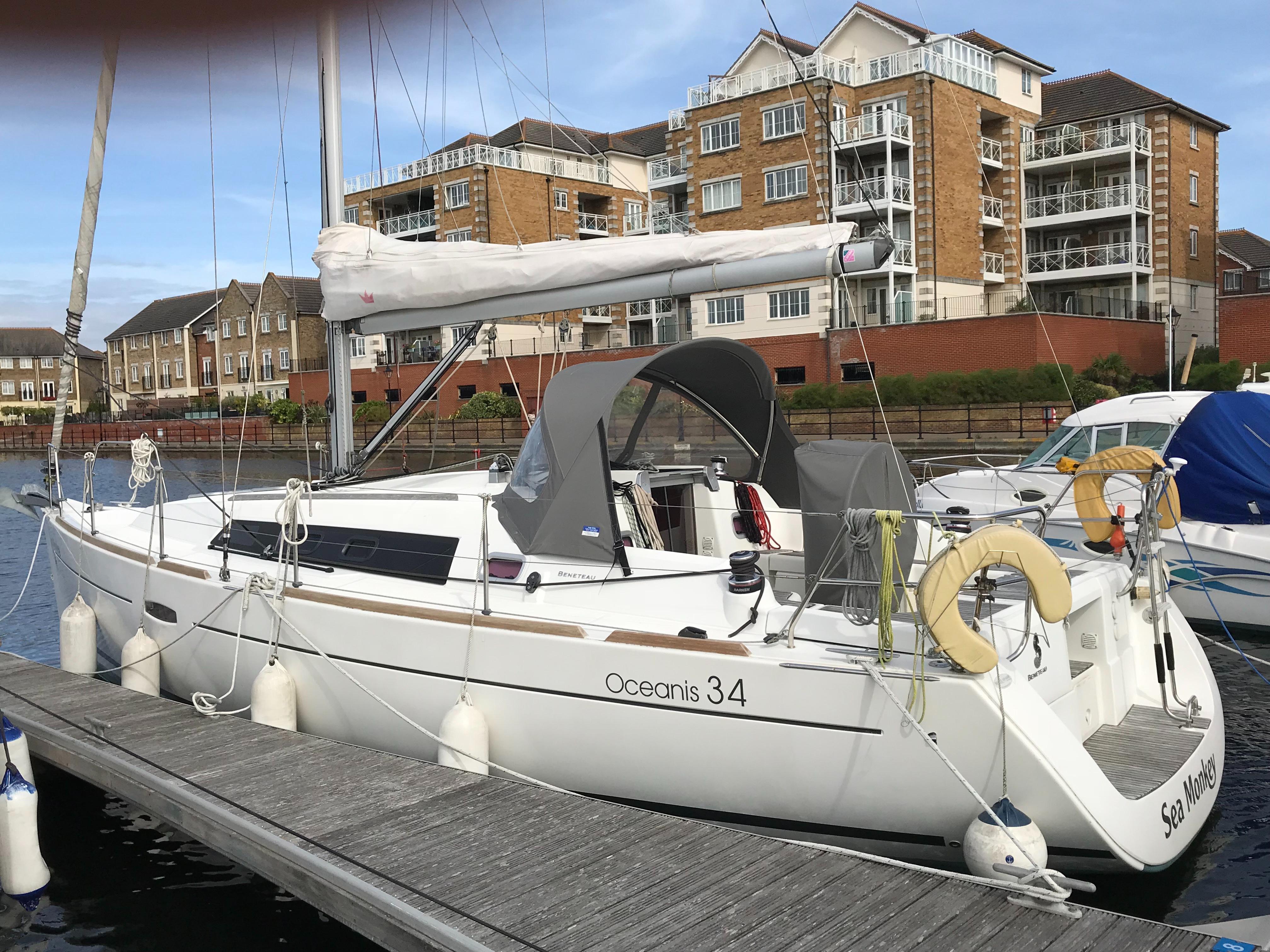 Beneteau Oceanis 34 For Sale Bates Wharf