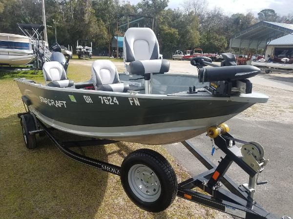 For Sale: 2016 Starcraft Pro Troller 168 16ft<br/>Nobles  Marine