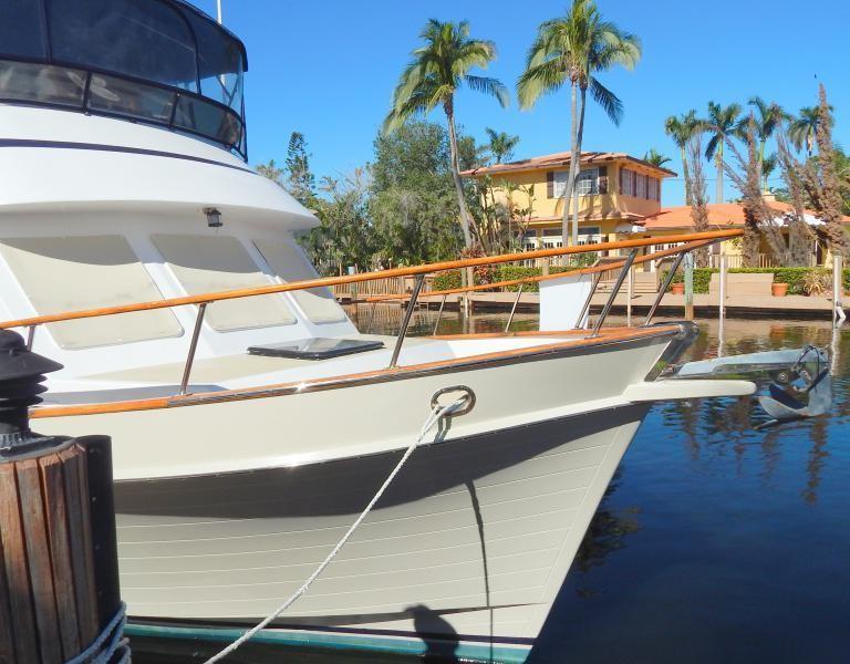 Starboard Hull Forward