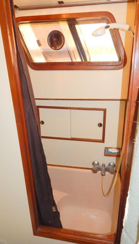 Master Stall Shower and Small Tub