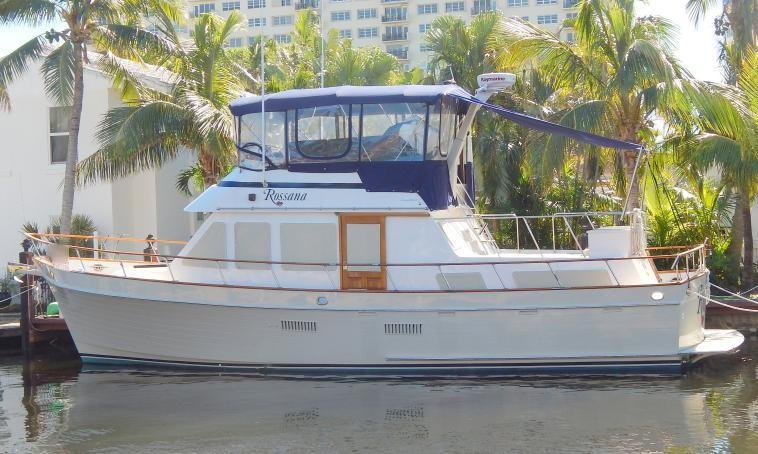 40 Ocean Alexander Rossana 1982 Ft  Lauderdale | Denison Yacht Sales