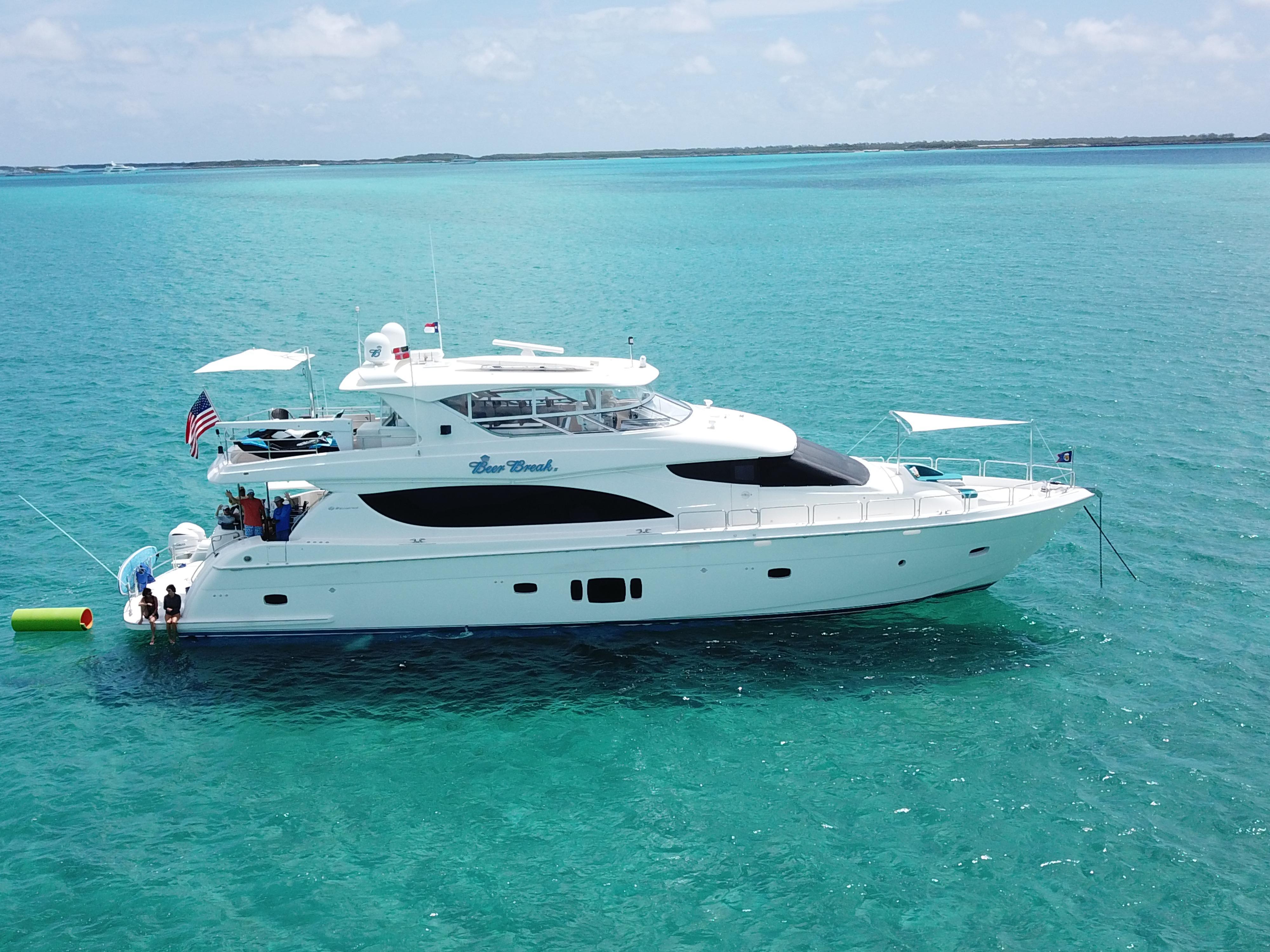 80 ft Hatteras 80 Motor Yacht