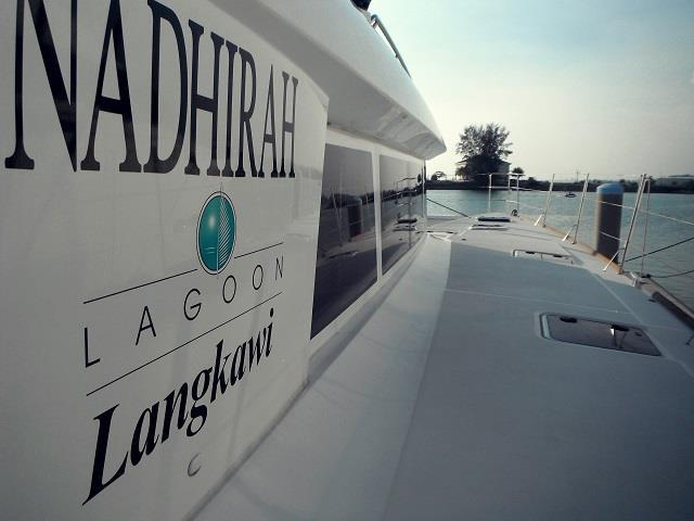 Lagoon 620 Starboard View