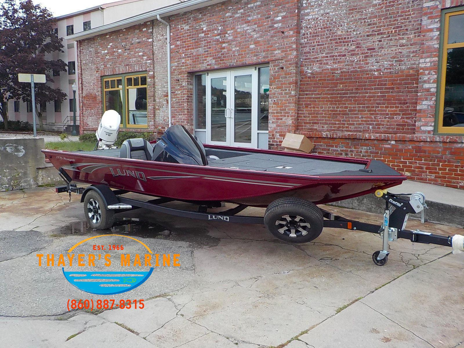 2019 Lund boat for sale, model of the boat is 1775 Renegade & Image # 1 of 32