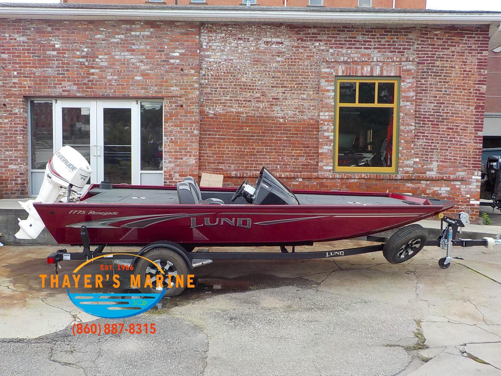 2019 Lund boat for sale, model of the boat is 1775 Renegade & Image # 21 of 32